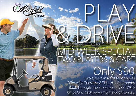 Play & Drive Mid Week Special